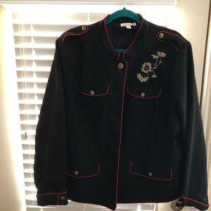 Dress Barn Military Jacket 3x NWT